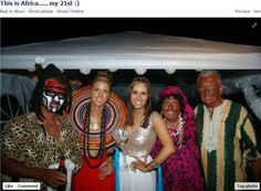 "Olivia is pictured in the center in what she says is a ""Cleopatra"" costume. Cleopatra meanwhile would beg to differ."