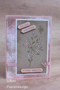 Touches of textures, Silkes Papierdesign,  Stampin up
