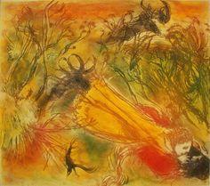 Arthur Boyd , Lovers in a landscape Australian Painters, Australian Art, Arthur Boyd, Aboriginal Dot Painting, Postmodern Art, Colonial Art, Desert Art, Postmodernism, View Image