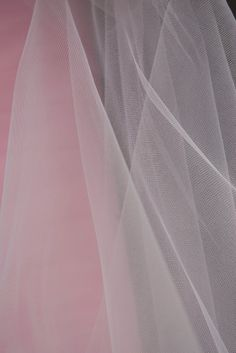 "Fine Tulle Bolt Light Pink 54"" wide 40 yards"