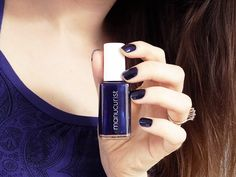 Coup de blue | Le vernis Bleu N°3 de Manucurist | Beauty & Gibberish