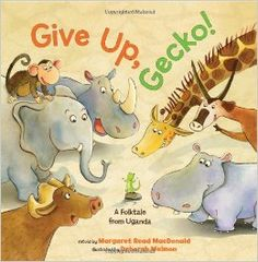 Give Up, Gecko! back to school book about perseverance