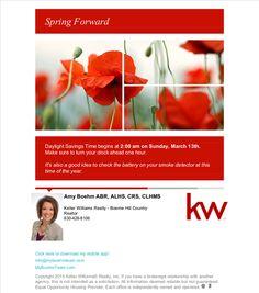 Spring Forward - Poppy (Daylight Saving Reminder)