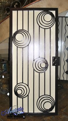 Carnivale - Wrought Iron Security Screen Door - Model: SD0209