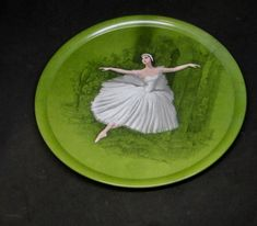 Vintage Les Sylphides Platter - Ornamin Ware Melbourne by TheHungryWhippet on Etsy Melamine Tray, Country Treasures, Vintage Country, Whippet, Artist Names, Platter, Trays, Vintage Shops, Melbourne