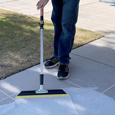 Add beauty to your outdoor concrete floors by using this SpreadRock Granite Stone Coating Flint Gray Satin Interior or Exterior Concrete Resurfacer and Sealer. Concrete Porch, Concrete Bricks, Concrete Driveways, Concrete Stone, Granite Stone, Concrete Floors, Painting Concrete Patios, Repair Concrete Driveway, Driveway Sealer