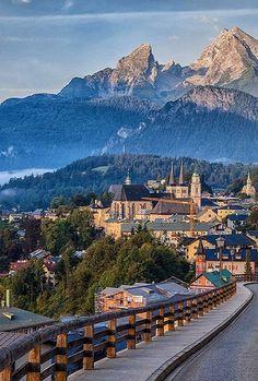 In Watzmann, Bavaria, Germany.