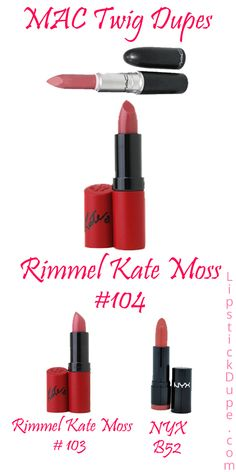 MAC Twig Lipstick Dupes! - Lipstick Dupe Lipstick Dupe  deff wearing with brown liner!