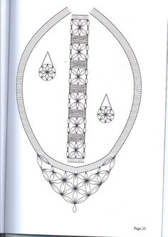 joyas - šperky - heli - Álbumes web de Picasa Lace Necklace, Lace Jewelry, Handmade Jewelry, Bobbin Lacemaking, Jewelry Design Drawing, Bobbin Lace Patterns, Jewellery Sketches, Lace Heart, Lace Making