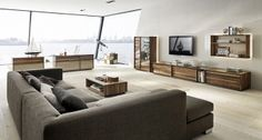 Living Room Design : Gray Brown Living Room Design Ideas Beautiful and Wonderful Living Room Decorations Colors Living Room Wall… Masculine Living Rooms, Living Room Sets, Living Room Modern, Living Room Designs, Living Area, Furniture Layout, Living Room Furniture, Living Room Decor, Furniture Design