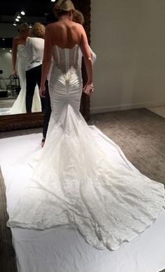 Unique Inbal Dror BR wedding dress currently for sale at retail