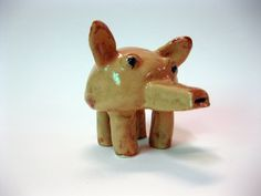 Clay Whistle Beast     by Uturn on Etsy, $16.00