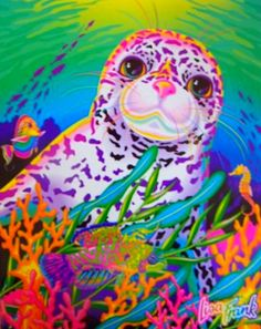 lisa frank's seal | tumblr