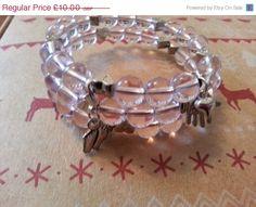 Handmade Baby Pink Breastfeeding Bracelet / by MsRetroDesigns, £9.00 (sale ending in under an hour)