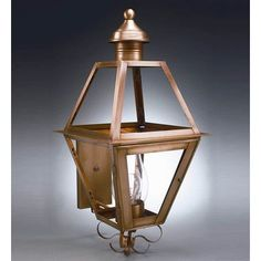 Northeast Lantern Boston 1 Light Outdoor Sconce Finish: Dark Antique Brass, Shade Type: Frosted