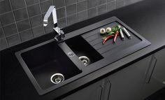 Reginox Adriatico 1.5 Bowl Granite Sink http://www.sinks-taps.com/item-10549-ADRIATICO_1_5__Bowl_Granite_Sink.aspx