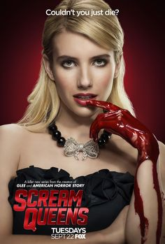 Emma Roberts | Chanel Oberlin  Scream Queens premieres Tuesday, Sept. 22 on FOX!  Check out the latest buzz on http://www.fox.com/scream-queens