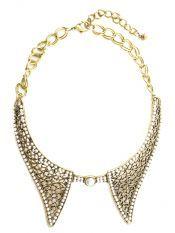 Colier- guler metalic/ metallic collar- Venetian Affair spring collection 2013 Meli Melo, Spring Collection, Venetian, Affair, Gold Necklace, Metallic, Jewelry, Design, Products