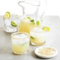 Honey-Ginger Limeade...I'm not much of a drinker so this sounds right up my ally!  Non-Alcoholic Drink Option