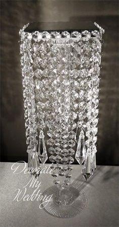 Crystal Chandelier Centerpiece Wedding Crystal
