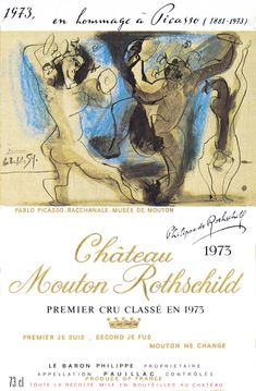 Chateau Mouton Rothschild by Pablo Picasso