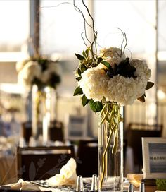 hydrangea used in a simple and elegant way
