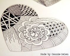 Drawing with Pattern | Drawing Techniques | Pinterest | See more ...