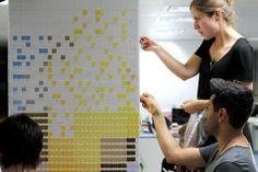 ogilvyone mosaics pantone paper pixel emoticons