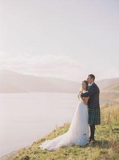 Rustic Autumnal Scottish Elopement   Wedding Sparrow