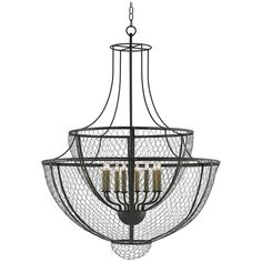 Currey and Company Winton Chandelier