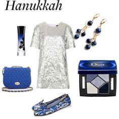 #Hanukkah contest by ritasunderland, via Polyvore