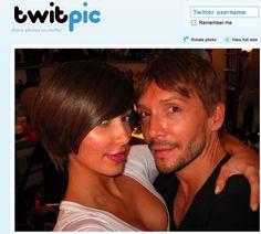 Celebrity Twitpics! Kim Kardashians short hairdo