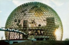 U.S. Pavilion Montreal Expo 67 Buckminster Fuller, 1967