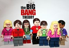 https://flic.kr/p/wBGDAv | Lego Big Bang Theory Poster |  Made By Yours Truly