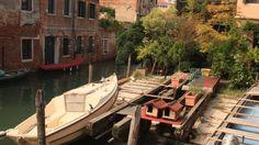 Squero dei Muti - where people used to build the typical Venice boats