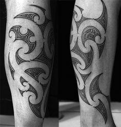 . Leg Tattoo Men, Calf Tattoo, Leg Tattoos, Tribal Tattoos, Tattoos For Guys, Cool Tattoos, Tatoos, Maori Tattoos, Tattoo Gallery