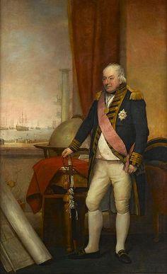 RN Admiral's Uniform 1806