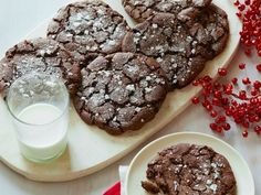 Why such a devilish moniker? These chocolatey Diablo cookies contain cayenne pepper for a hint of heat.