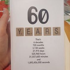 Birthday Card, Milestone Birthday Card, The Big 70 Birthday, 1950 Birthday Card Birthday Card Milestone Birthday Card The Big 70 70 60th Birthday Party Decorations, 70th Birthday Card, 55th Birthday, 60 Birthday Party Ideas, Birthday Banners, Ideas Party, Happy Birthday, Birthday Parties, 60th Birthday Ideas For Women