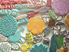 DIY {hand carved stamps}