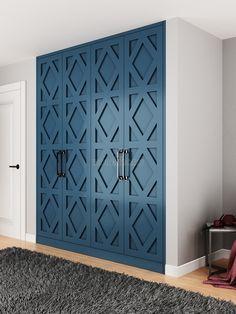 Wardrobe Room, Wardrobe Furniture, Wardrobe Door Designs, Closet Designs, Bedroom Closet Design, Home Decor Bedroom, Feature Wall Design, Sofa Bed Design, Closet Door Makeover