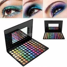 New Pro Makeup Eyeshadow Palette Beauty Makeup Eye Shadow Set 88 Full Colors
