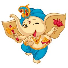 Buy Ganesha Elephant Cartoon Baby Vector Illustration by vectorpouch on GraphicRiver. Ganesha elephant cartoon vector illustration for traditional Hindu festival. Isolated happy baby Ganesha elephant in . Baby Krishna, Baby Ganesha, Little Krishna, Cute Krishna, Arte Ganesha, Ganesha Sketch, Ganesha Drawing, Lord Ganesha Paintings, Ganesha Tattoo