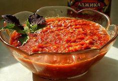 Аджика: 17 рецептов на любой вкус АДЖИКА-1 5 кг помидоров, 1 кг сладкого перца, 16 штук горького перца, 300 г чеснока, 0,5 кг хрена, 1 стак. соли, 2... - Сад огород - Google+
