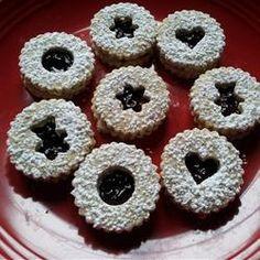 Raspberry Linzer Cookies Allrecipes.com