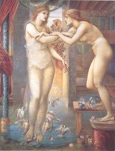 Story of Pygmalion and Galatea, Sir Edward Burne-Jones, 1878