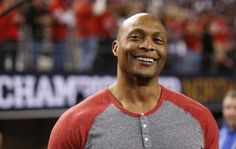 The Tennessee Titans could be up for sale in the near future, and if that's the case former running back Eddie George would like to become an owner. Eddie George, Heisman Trophy, Ohio State University, Tennessee Titans, Running Back, Nfl, Actors, Mens Tops, How To Make