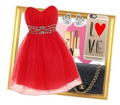 """""""Your Valentines Date :D"""" by casetify ❤ liked on Polyvore featuring Sephora Collection, Yves Saint Laurent, Chanel, Dorothy Perkins, Georgini, Casetify, women's clothing, women's fashion, women and female"""