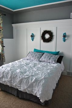 Anthropologie inspired knotted bedding also inspired by kojodesigns!
