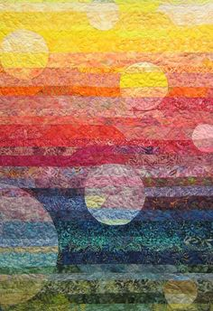 Dreams Rising Art Quilt by JaneHicksQuilts on Etsy